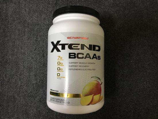 BCAAエクステンドのおすすめマンゴー味をレビュー【日常生活の水分補給】