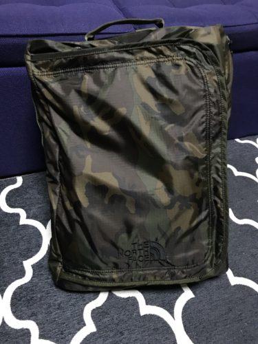 ジムに行く時におすすめなノースフェイスのバッグ【フレームドデイパック】