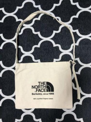 ノースフェイスのミュゼットバック【シンプルでナチュラル素材の鞄】