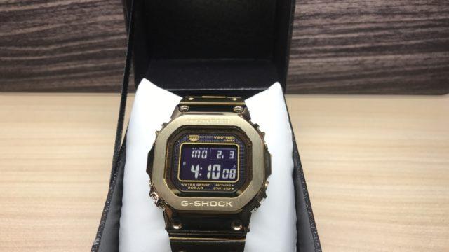 木村拓哉も愛用する腕時計G-SHOCK GMW-B5000を紹介【レビュー】